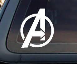 Avengers Avenger A Marvel Car Decal Sticker 6 Ebay