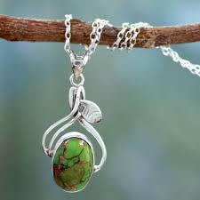 fair trade sterling silver necklace