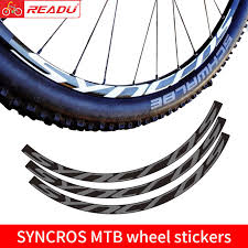Mountain Bike Syncros Wheel Set Sticker Mtb Bicycle Decals 27 5inch And 29inch Bicycle Stickers Aliexpress