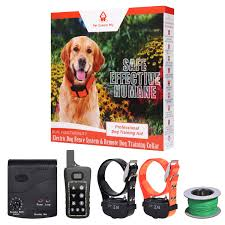 Combo Electric Dog Fence 2 Remote Training Collar