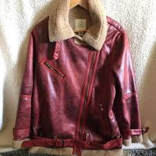 oversized uo faux leather