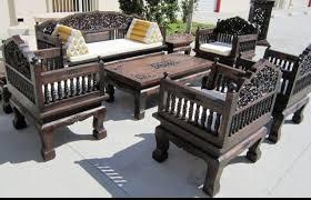 interior wooden sofa furniture design