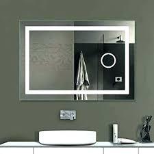 glacier bay frameless mirror 24 x 30