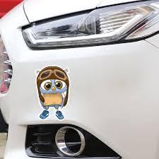 Yjzt 9 1cm 14 5cm Owl Baby Wearing A Flying Cap Pvc Car Sticker 11 01270 Car Stickers Aliexpress