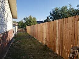 Midwest Fence Cedar Fence Material Installation
