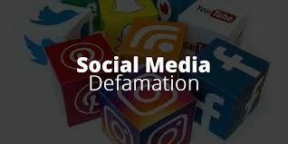 social a defamation libel who