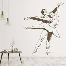 Ballet Dancers Vinyl Wall Decal Living Room Ballerina Wall Sticker Exercise Room Classroom Playing Room Decoration Art Removable Vinyl Wall Decals Removable Wall Art From Joystickers 12 57 Dhgate Com