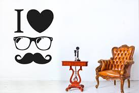 I Love A Cool Gentlemen Wall Stickers Vinyl Art Decals Ebay