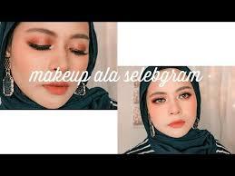 tutorial make up hijab insram