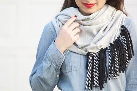 chic and cozy diy scarves fashionsy