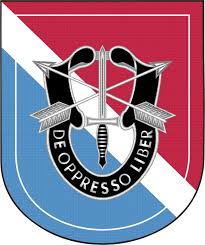 11th Special Forces Group Flash Decal