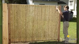 Cali Bamboo Fencing 6ft X 6ft Natural 1 Inch Diameter Cali