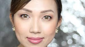 dainty pinay natural bridal makeup