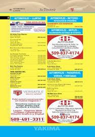 yakima yellow listing by versatile