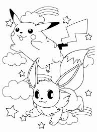 Pokemon Coloring Page Kleurplaten Pikachu Pokemon