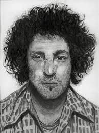 Abbie Hoffman Drawing by Tala Shekarkhand | Saatchi Art