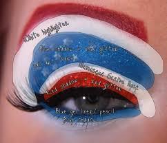 avengers inspired eye makeup designs