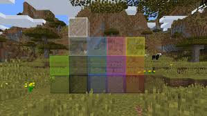 block of the week glass minecraft