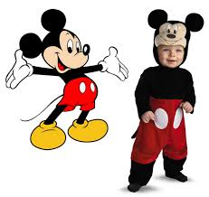 simple mickey mouse costumes for kids