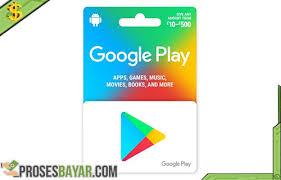 4 cara beli google play gift card murah