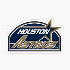 Houston Astros Stickers Redbubble