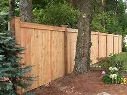 Custom Wood Privacy Fence Wood Fence Pinterest Wood Privacy Fence Privacy Fences And Wood Fence Design Backyard Fences Fence Design