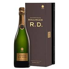 bollinger r d extra brut with gift box