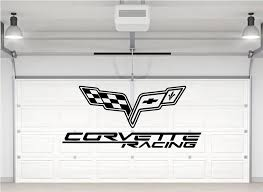 Corvette Racing Emblem Logo Wall Sticker Wall Sticker Usa