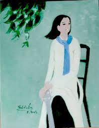 Họa sĩ Thái Tuấn với những bức vẽ thiếu nữ - Xã hội - cgvdt.vn