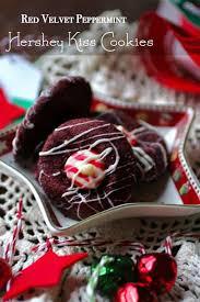 hershey s kiss cookies red velvet