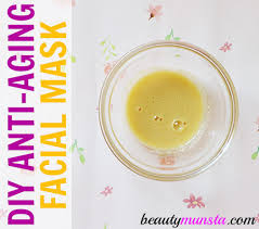 homemade anti aging face mask