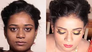 dark skin bridal makeup tutorial 2018