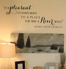 Henry Thoreau Quote Wall Decal Trading Phrases