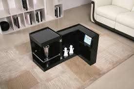 coffee end table with mini storage