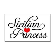 Sicilianprincess Sticker Rectangle Sicilian Princess Rectangle Sticker By Magarmor Cafepress Italian Quotes Sicilian Quotes Sicilian