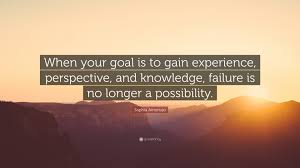 "sophia amoruso quote ""when your goal is to gain experience"