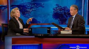 Jon Stewart Tests Hillary Clinton with a Presidential Aptitude Test |  Boston.com