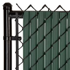 Maximum Privacy Green Solitube Slats For 4ft Chain Link Fence Walmart Com Walmart Com