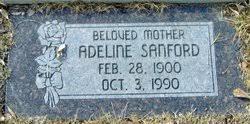 Adeline Dixon Sanford (1900-1990) - Find A Grave Memorial
