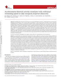 article accelerometer derived activity
