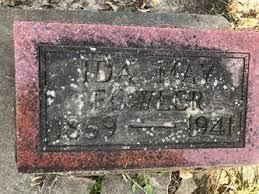 Ida May Fowler (1869-1941) - Find A Grave Memorial