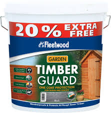 Fleetwood Timberguard Wood Preservative 5 Litre Fence Shed Topline Ie