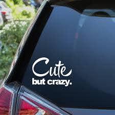 I Love My Girlfriend Heart Woman Funny Car Vinyl Sticker Decal Window