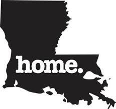 Louisiana Home Vinyl Decal New Orleans Bumpersticker New Orleans Louisiana Creole Cajun