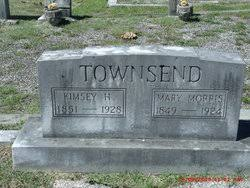 Kimsey Hillsman Townsend (1851-1928) - Find A Grave Memorial
