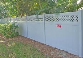 Vinyl Privacy Fence Hollingsworth Pvc Fence Danielle Fence Outdoor Living Mulberry Fl Vinyl Fence Fence Design Outdoor Living