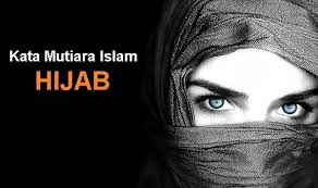 kata mutiara islami tentang hijab menutup aurat bagi wanita
