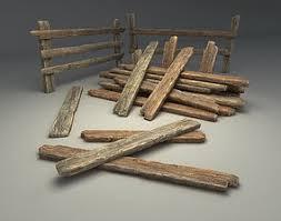 Wooden Fence 3d Models Cgtrader