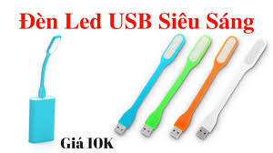 Đèn LED USB 10 cái trở lên - 100.000đ