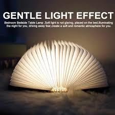 Mini Origami Sách Đèn Gấp ĐÈN LED Sạc CỔNG USB Đèn Ngủ Trang Trí Phòng Ngủ  Ánh Sáng Mới Bán Sách Đèn Dành cho Trẻ Em|